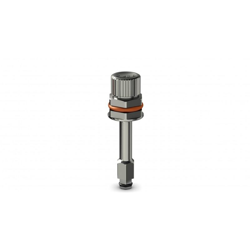 Tournevis implantaire long pour clé à cliquet (hex 2.42mm)