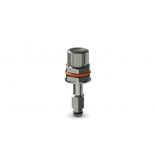 Tournevis implantaire court pour clé à cliquet (hex 2.42mm)