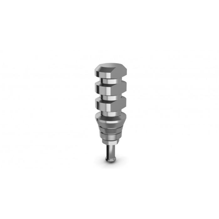 Transfert d'empreinte ouvert/fermé connexion à l'implant par pression uniquement