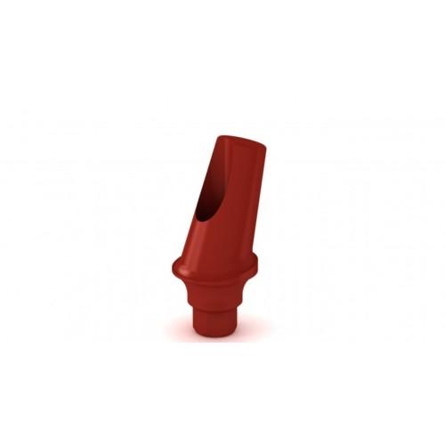 Pilier plastique esthétique angulé 15° H2mm