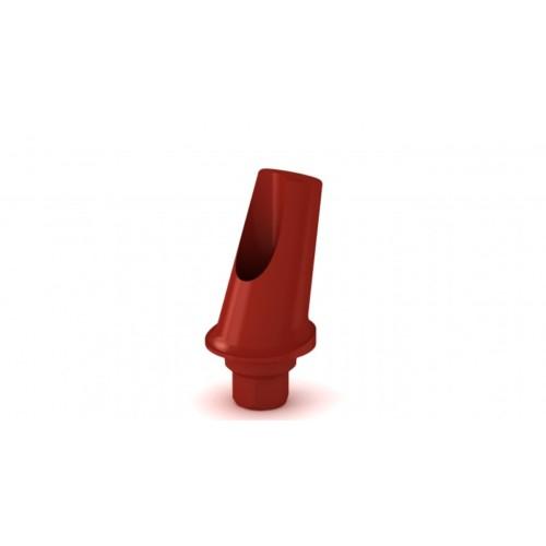 Pilier plastique esthétique angulé 15° H1mm
